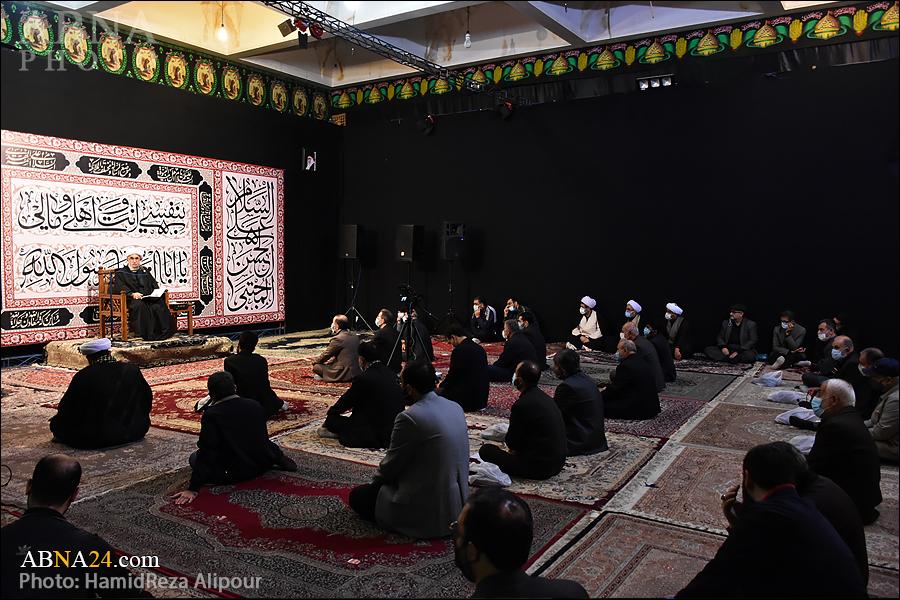 Reportage photo/Conseil de deuil à l'occasion de l'anniversaire du martyre de l'Imam Al-Rida (AS) dans la ville de