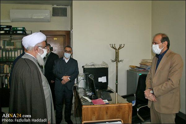عکس خبری/ بازدید نوروزی دبیرکل مجمع جهانی اهلبیت(ع) از بخشهای مختلف مجمع تهران