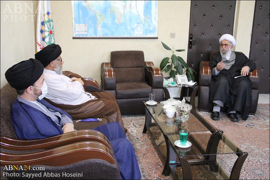 تصویری رپورٹ/ حجۃ الاسلام حسینی مزاری کی آیت اللہ رمضانی سے ملاقات/ افغانستان کے حالات پر گفتگو