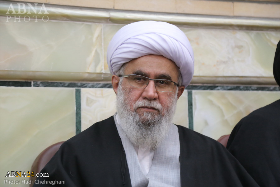 Photos: Secretary-General of AhlulBayt (a.s.) World Assembly attends at demise anniv. of Ayatollah Fazel Lankarani