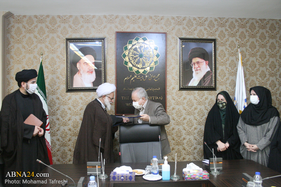 Photos: Signing ceremony of memorandum of understanding between Ahlulbayt (AS) World Assembly, National Library of Iran