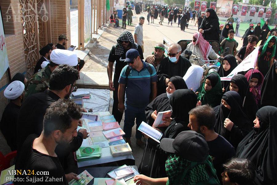 گزارش تصویری/ موکب مجمع جهانی اهلبیت (ع) در مسیر پیادهروی نجف به کربلا