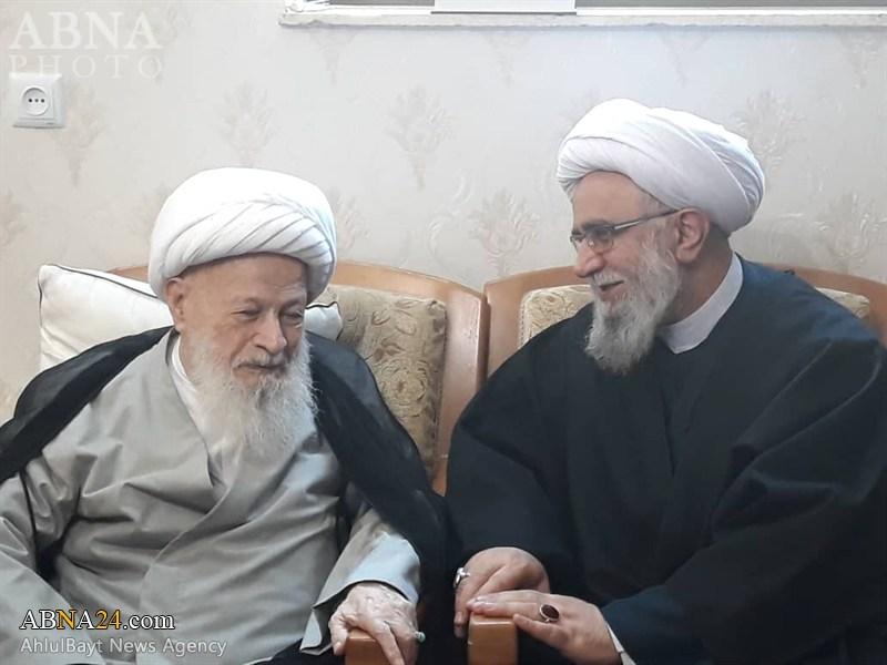 Photos: Secretary-General of AhlulBayt (a.s.) World Assembly meets with Ayatollah Mahfouzi