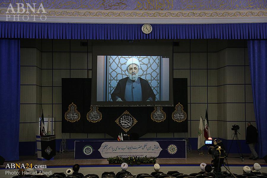گزارش تصویری/ کمیسیون مقاومت همایش حضرت ابوطالب(ع)