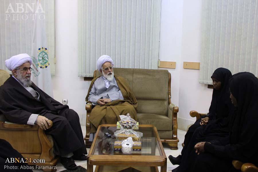 Photos: Daughters of Sheikh Zakzaky meet with Ayatollah Ramazani