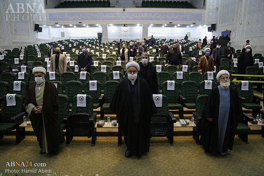 گزارش تصویری/ آئین نکوداشت مقام علمی، اخلاقی و شخصیت بین المللی آیت الله مصباح یزدی