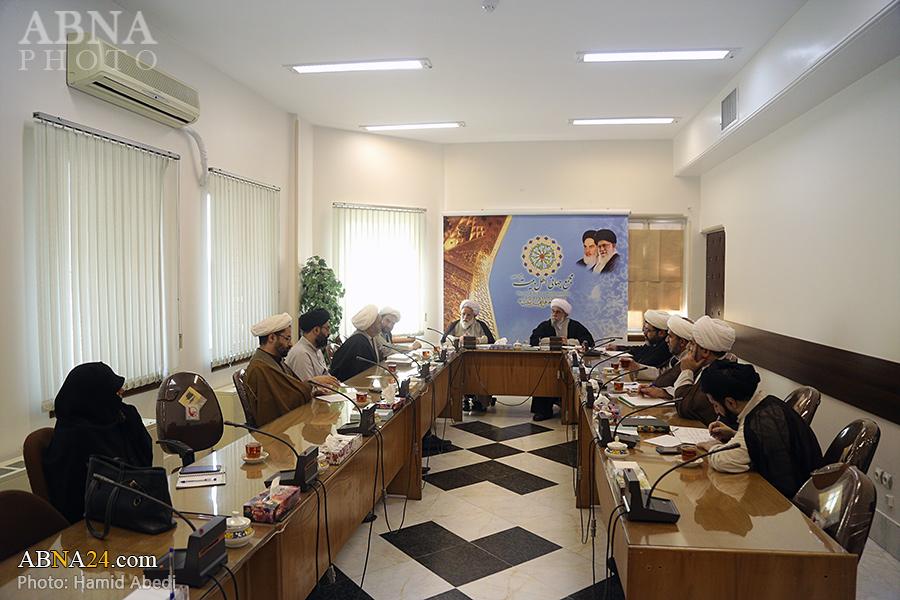 گزارش تصویری؛ جلسه شورای علمی همایش ابوطالب(ع) با حضور دبیرکل مجمع جهانی اهل بیت(ع)