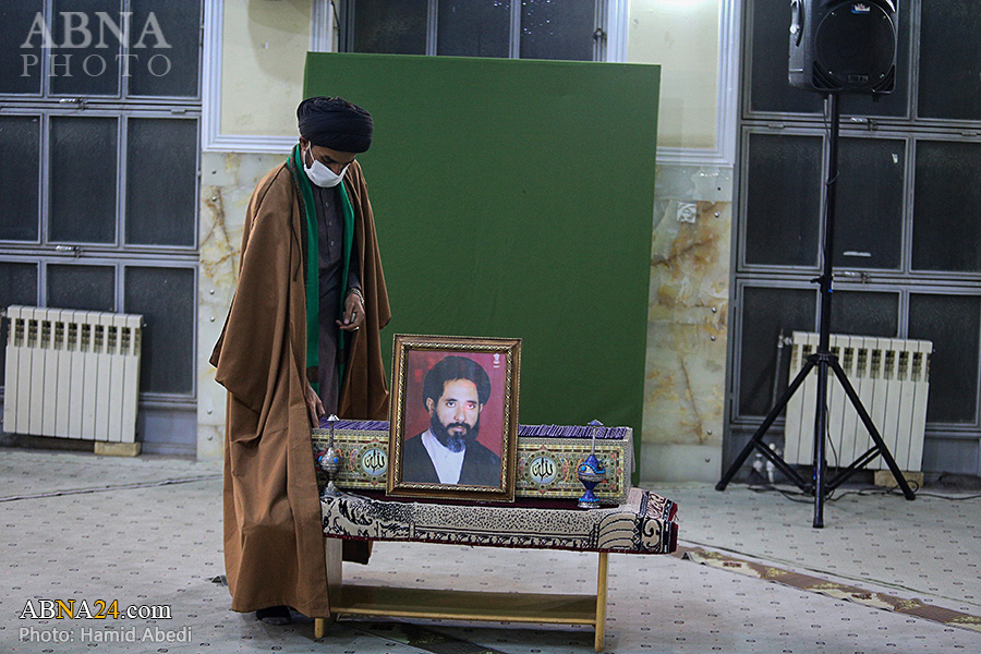 گزارش تصویری/ مراسم ترحیم قاضی «سید نیاز حسین نقوی» با رعایت پروتکل های بهداشتی