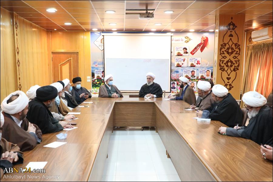 عکس خبری/ دیدار اساتید عالی جامعة المصطفی(ص) در سوریه با آیتالله رمضانی