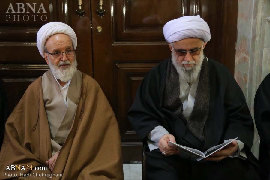 Photos: Secretary-General of AhlulBayt (a.s.) World Assembly attends at funeral ceremony of Ayatollah Tabarsi