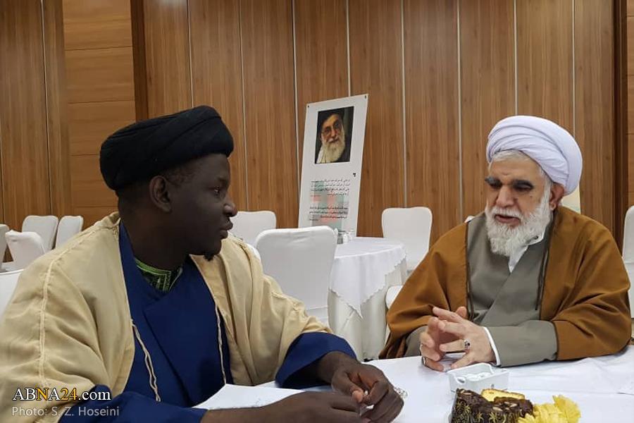 محبان اھل بیت(ع) عالمی کانگرنس کی مرکزی کونسل کے اراکین کی اہل بیت(ع) عالمی اسمبلی کے سیکرٹری جنرل سے ملاقات