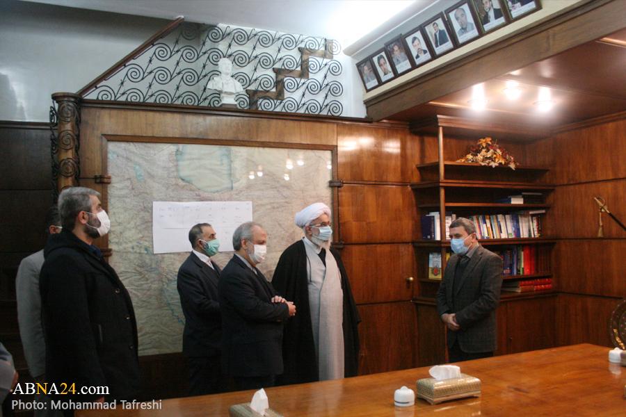 گزارش تصویری؛ حضور دبیرکل مجمع جهانی اهلبیت(ع) در انستیتو پاستور ایران