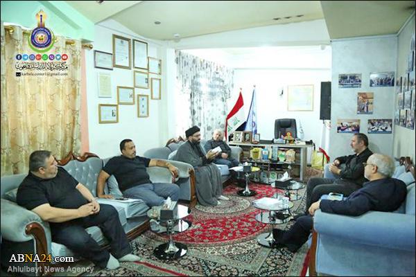 اہل بیت(ع) عالمی اسمبلی کے وفد کی کربلا میں دینی ثقافتی اداروں کے سربراہان سے ملاقات