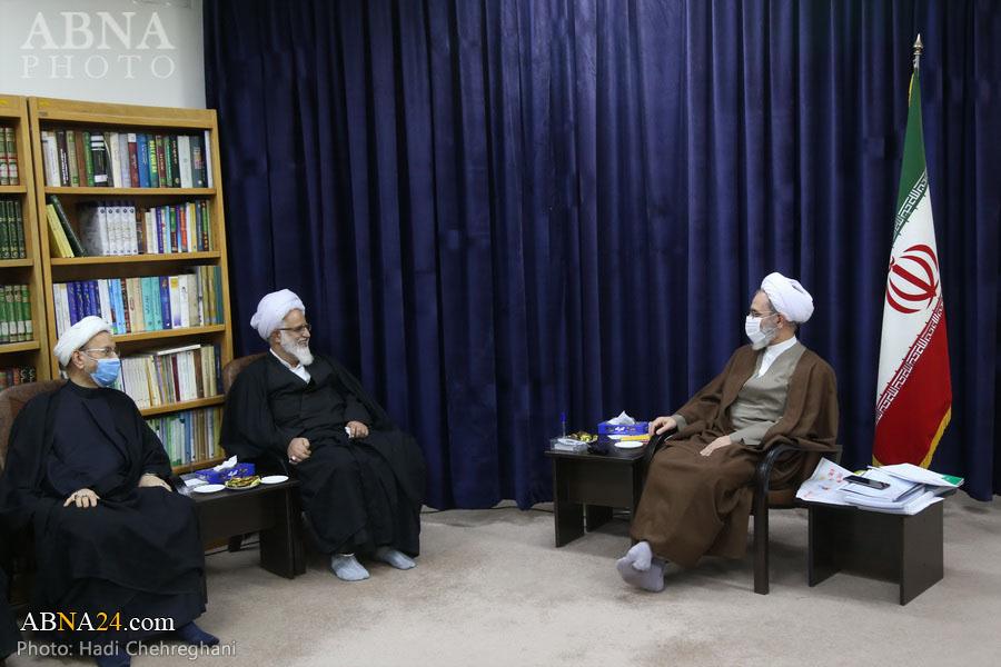 Photo: Ayatollah Arafi accepted Abu Talib Int. Conference Secretariat members