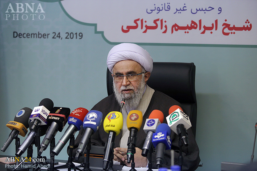 Live broadcast of Ayatollah Ramazani's press conference on Sheikh Zakzaky situation, Zaria disaster anniversary from Press TV