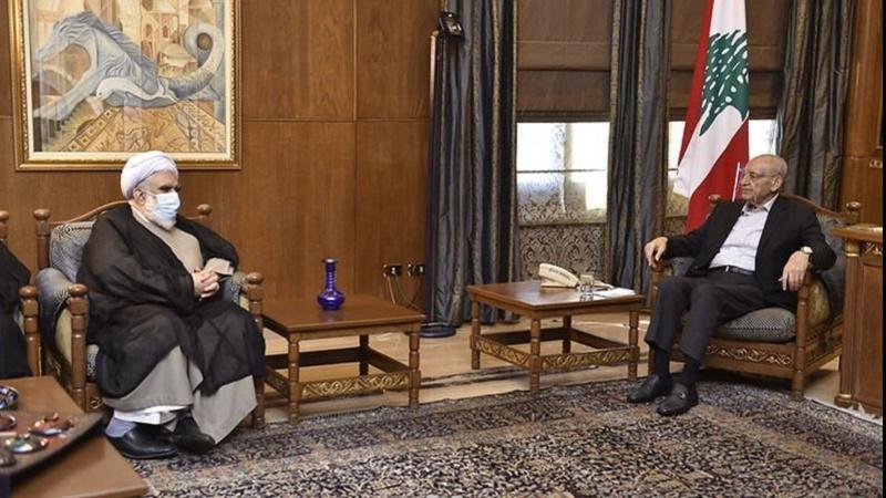 Аятолла Ахтари встретился с Набихом Берри