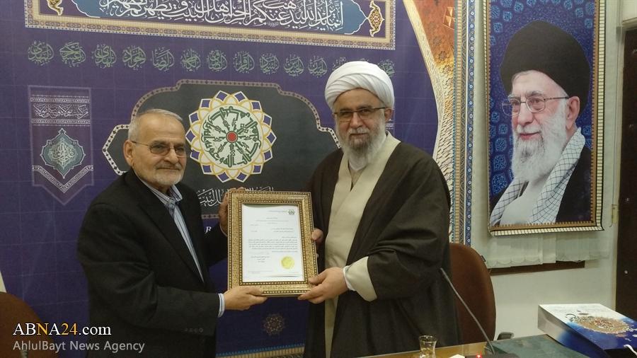 Photos: Head of Dar Al-Hekma Institute in Montreal meet with Ayatollah Ramazani