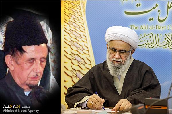 Ayatollah Ramazani expressed his condolences on demise of Molana Naqvi