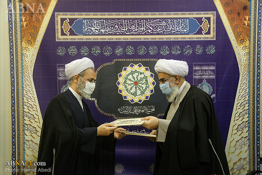 Photos: Signing ceremony of memorandum of understanding between Ahlulbayt (AS) World Assembly, Centre for Management of Islamic Seminaries