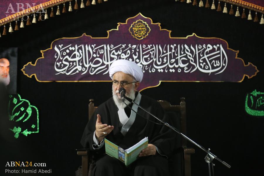 Photos: Ayatollah Ramazani delivers speech at Imam Reza holy shrine