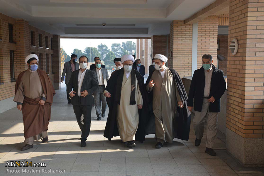 Photos: Ayatollah Ramazani visits new building of Ahlulbayt (AS) International University