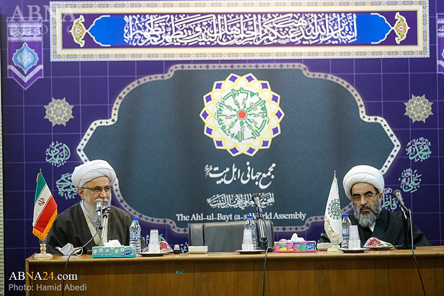 Photos: Meeting of head, deputies of A'eme Athar Jurisprudence Center with Ayatollah Ramazani, officials of AhlulBayt (a.s.) World Assembly