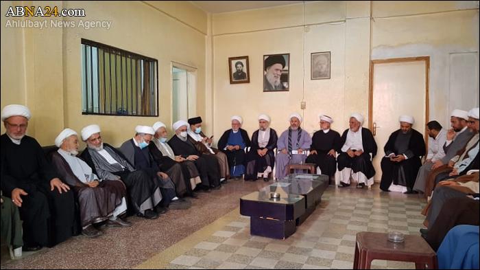 Photos: Ayatollah Ramazani met Ulama Association of Tyre