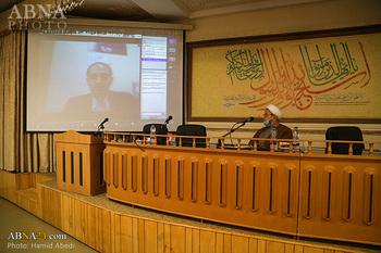 """Hz. Ebu Talib (a.s) Konferansı Şiir ve Edep Komisyonu 2 / Hüseyin Muhtedi'nin """"Ebu Talib'in (a.s) Divanında Nebevi Övgülerin Araştırılması"""" Adlı Makalesini Sunumu"""