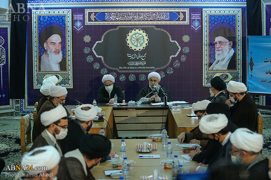 تصویری رپورٹ/ شبہات کے جوابات کے مراکز کے ساتھ باہمی تعاون نشست