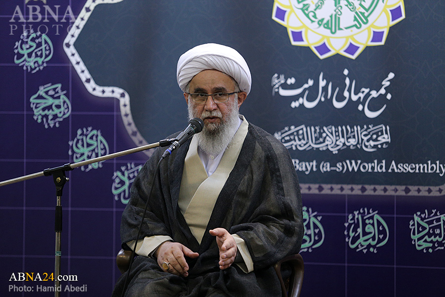 Photos: Imam Reza birth anniversary celebrated at Ahlul Bayt (AS) World Assembly office in Qom