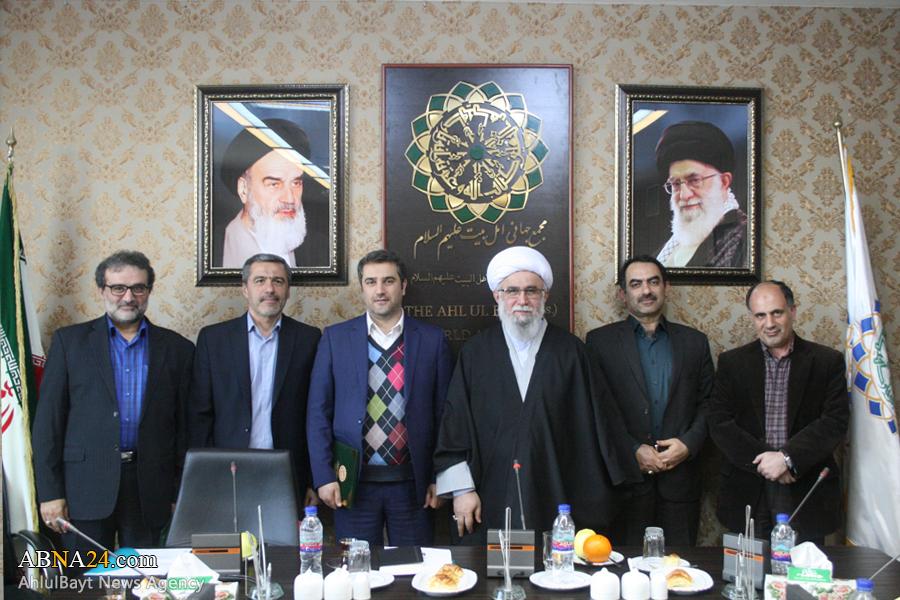 مدیر شبکه ثقلین با حکم دبیرکل مجمع جهانی اهلبیت(ع) منصوب شد + عکس