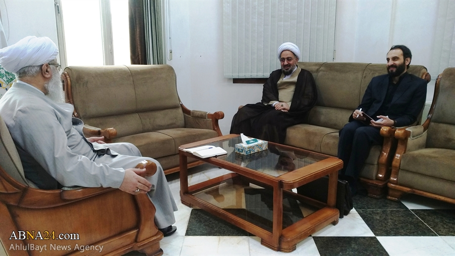 دیدار نماینده مقام معظم رهبری در کشور اندونزی با آیت الله رمضانی + عکس