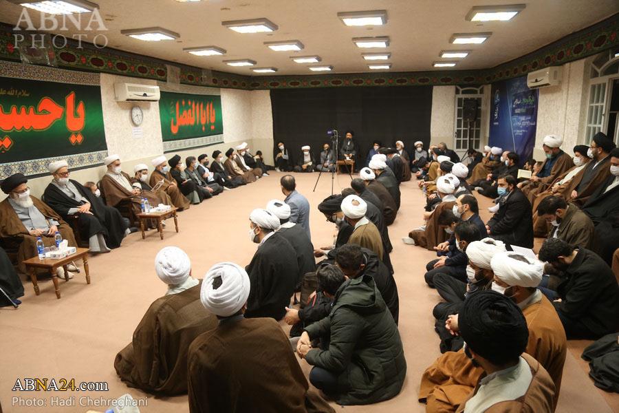 گزارش تصویری/ مراسم هفتمین روز درگذشت مرحوم حجت الاسلام