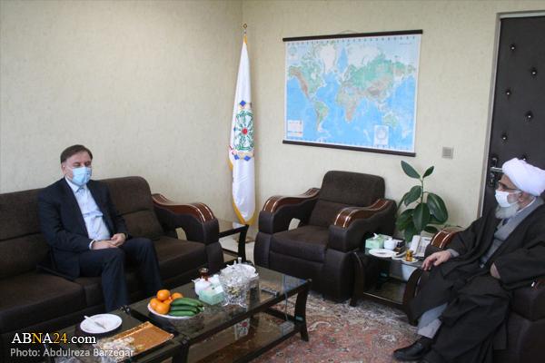 صوبہ گیلان کے گورنر کی اہل بیت(ع) عالمی اسمبلی کے سیکرٹری جنرل سے ملاقات