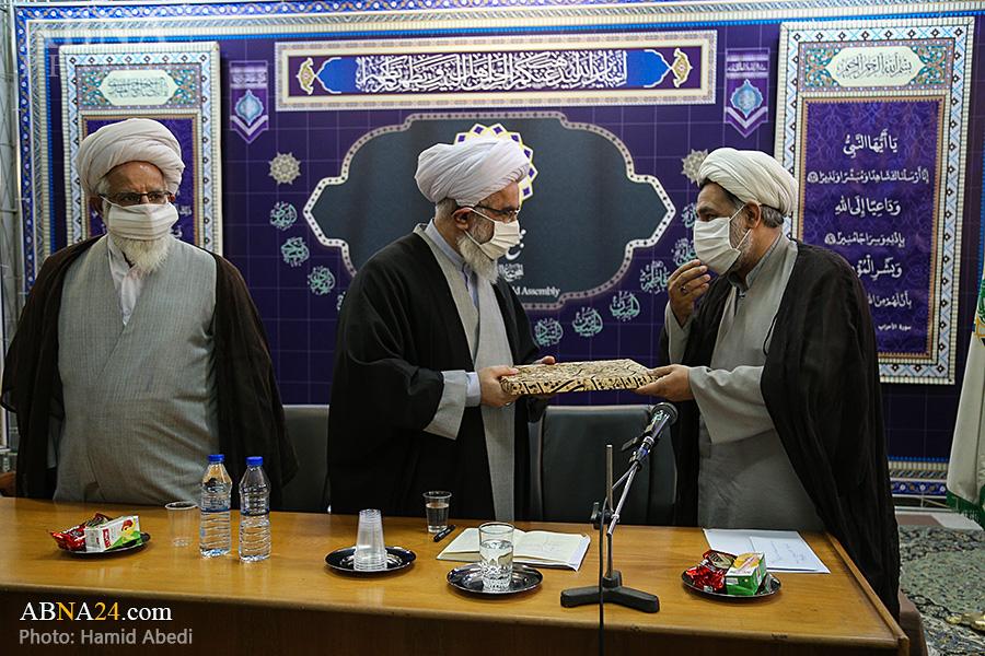 گزارش تصویری؛ دیدار مسئولان و محققان دانشنامه ویکی شیعه با آیت الله رمضانی