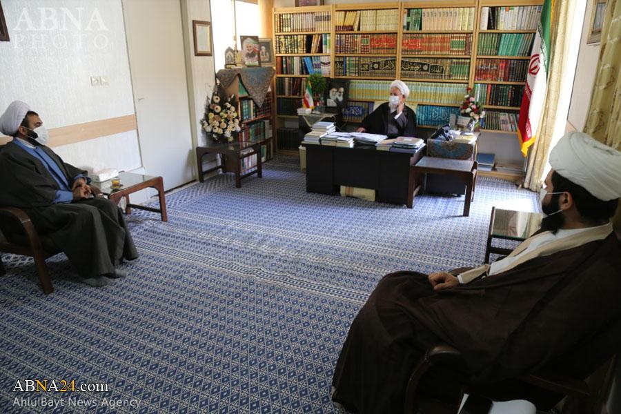 عکس خبری/ دیدار نمایندگان همایش بین المللی حضرت ابوطالب(ع) با نماینده ولی فقیه در استان یزد