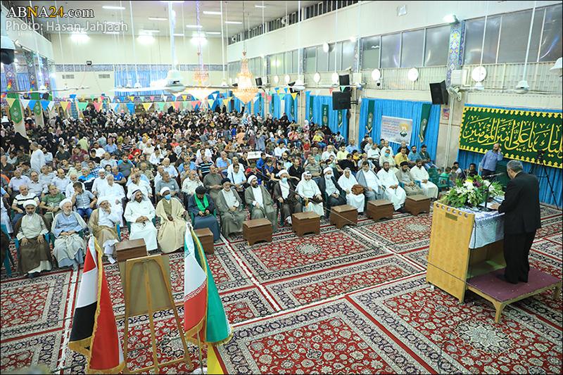 عکس خبری/ جشن عید غدیر مجمع اهلبیت(ع) سوریه در حرم حضرت زینب(س)