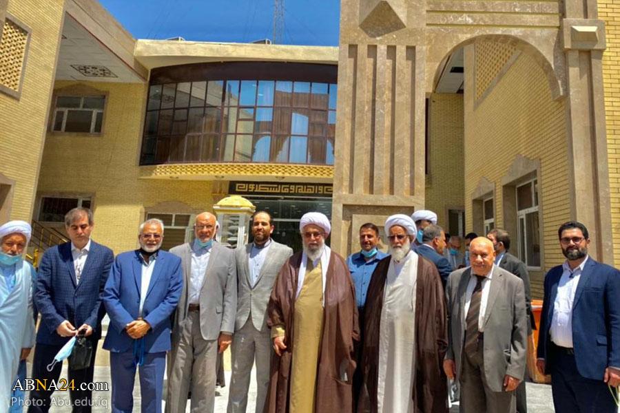 Photos: Ayatollah Ramazani visits AhlulBayt (a.s.) University