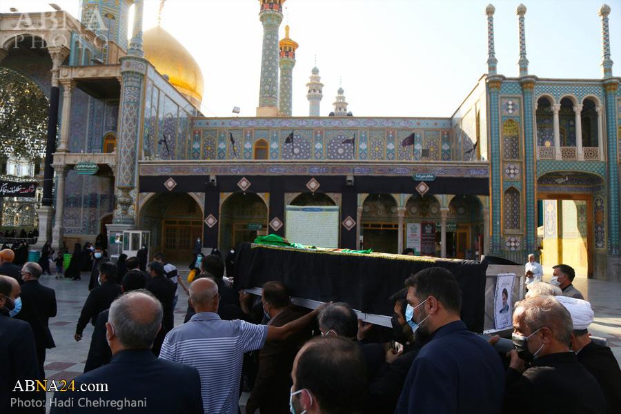 گزارش تصویری/ تشییع پیکر حجتالاسلام والمسلمین