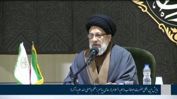 سیدمنذر حکیم: حضرت ابوطالب(ع) قبل و بعد از بعثت در تمام صحنهها از رسول خدا(ص) دفاع کرد