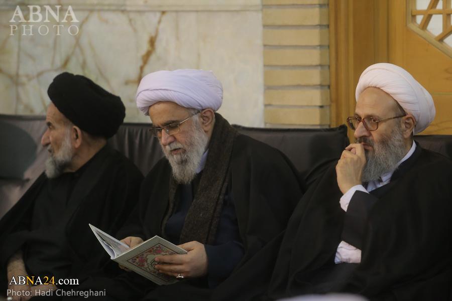 Photos: Ayatollah Ramazani attends commemoration ceremony for General Soleimani's martyrdom in Qom