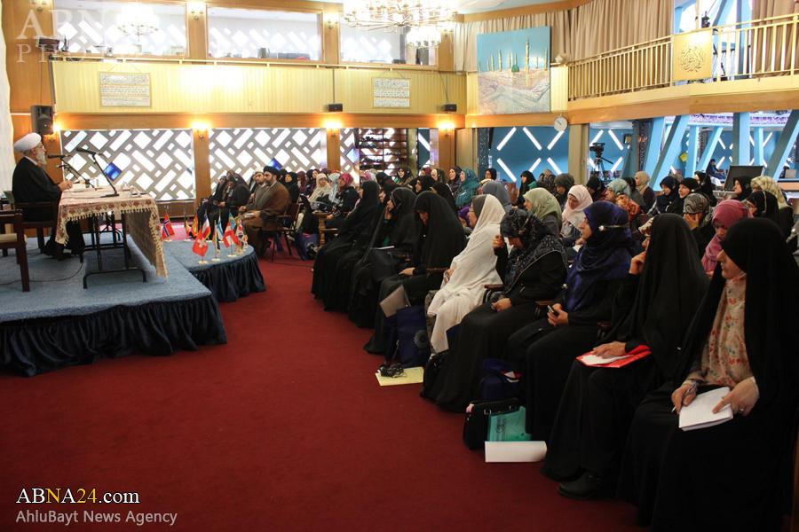 عکس خبری/ اولین گردهمایی مجمع اروپایی بانوان پیرو اهلبیت(ع) با حضور رئیس اداره زنان و کودکان مجمع جهانی اهلبیت(ع)