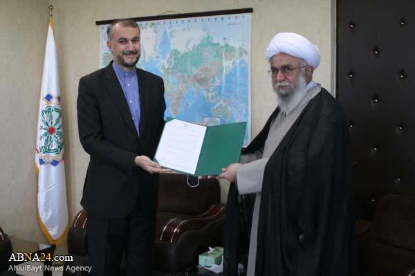 Д-р «Амир Абдуллахян» был назначен советником генерального секретаря Всемирной Ассамблеи Ахль аль-Байт