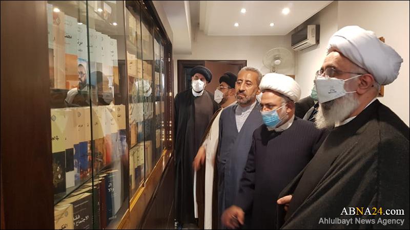 تصویری رپورٹ/ اہل بیت(ع) عالمی اسمبلی کے سیکرٹری جنرل نے کیا لبنان میں الفکر الاسلامی مرکز کا دورہ