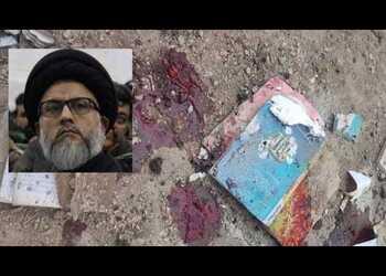 حسینی مزاری: تا پای نحس آمریکا در افغانستان باشد باید هر روز بیش از دیروز قربانی بدهیم
