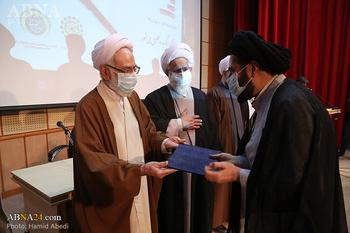 مراسم اختتامیه جشنواره ادبی رسانهای همایش بین المللی حضرت ابوطالب(ع) برگزار شد + اسامی برندگان