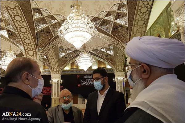 Foto Haber / Dünya Ehlibeyt (a.s) Kurultayı Genel Sekreteri Kazımeyn'de Kutsal Türbelerin Yapılandırılma Projelerini Yakından Takip Etti
