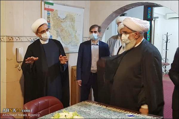 Foto Haber / Dünya Ehlibeyt (a.s) Kurultayı Genel Sekreteri Irak'ta İran Kültür Evini Ziyaret Etti