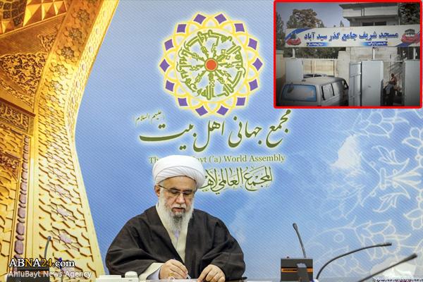Ayatollah Ramazani denounced terrorist attack on Shiite Mosque in Afghanistan