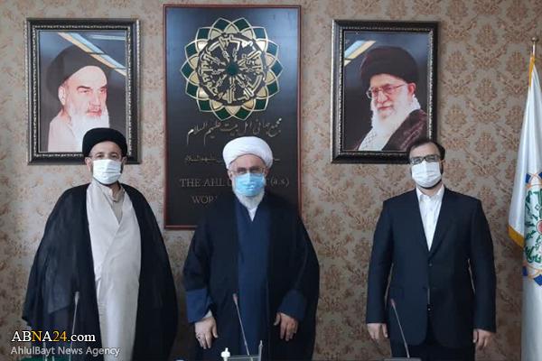 مدیرکل حقوقی مجمع جهانی اهل بیت(ع) و مدیرکل مجمع جهانی اهل بیت(ع) در استان فارس منصوب شدند